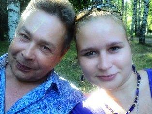 Вадим Чечулин и его дочка